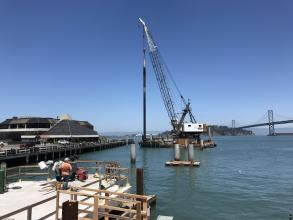 Downtown San Francisco Ferry Terminal Construction